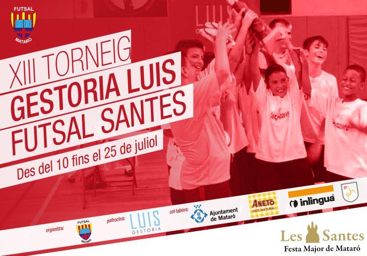 Últimes Places Lliures Al XIII Torneig Gestoria Luis Futsal Les Santes